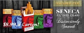 Seneca Filtered Cigar Sale