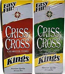Criss Cross KING Tubes 1000 Count - Product Image