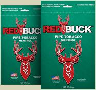 Red Buck Pipe Tobacco Menthol OUT OF STOCK - Product Image